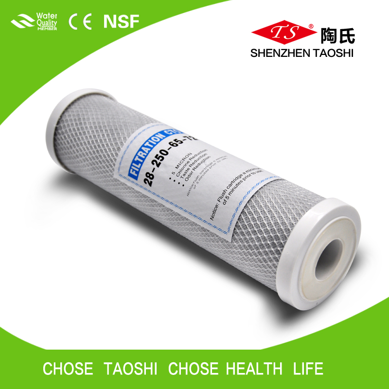 Carbon Block Filter Manufacturer/Favorable Price CTO filter cartridge for RO system