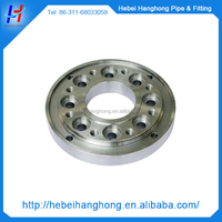 Numerically controlled lathe made pipe fitting flange
