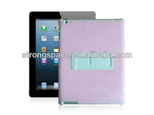 Many colors custom for ipad 2/3/4 tablet case with special kickstands made in China