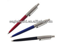 promotion metal material custom color parker jotter pen