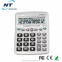 12 digits solar crystal bling calculator