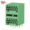 Double Row Right Angle Female Plug-in terminal block China terminal strip speaker terminal connector WJ15EDGRH-2.5