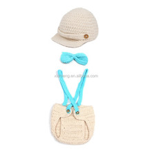 2015 free shipping made in china knitted baby photography props