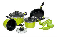 12pcs carbon steel non-stick cookware set