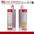 Fixing system resin chemical adhesive anchor concrete two component high strength epoxy