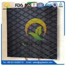 Low water absorption uhmwpe plastic sheet for outrigger pad