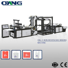Latest automatic non woven rope bag making machine