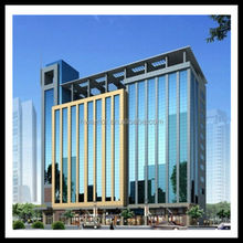 Hwarrior Guangzhou Accessories Anodized Super Market Curtain Wall