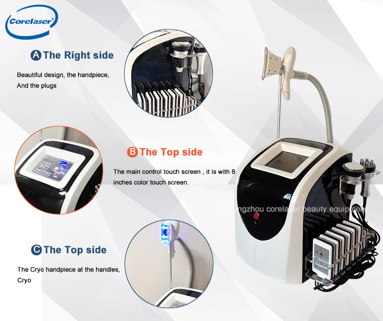 Portable Crio-therapy Multi-polar RF cavitation/the best seller