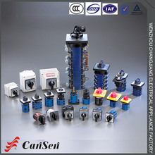 10A, 20A, 25A, 32A, 63A, 125A, 160A, 315A CE Certificate Universal Rotary Selector switch