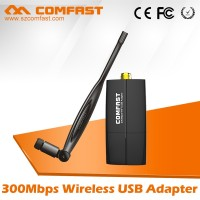 COMFAST CF-WU855P 300Mbps 2.4Ghz Wireless Wifi USB Lan Adapter Network Card for windows 192.168.1.1