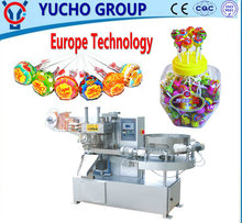 China Big Factory Good Quality Flat Lollipop Bunch Wrapping Machine