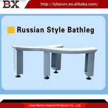 Alibaba China supplier Russian style ENAMEL STEEL bathleg