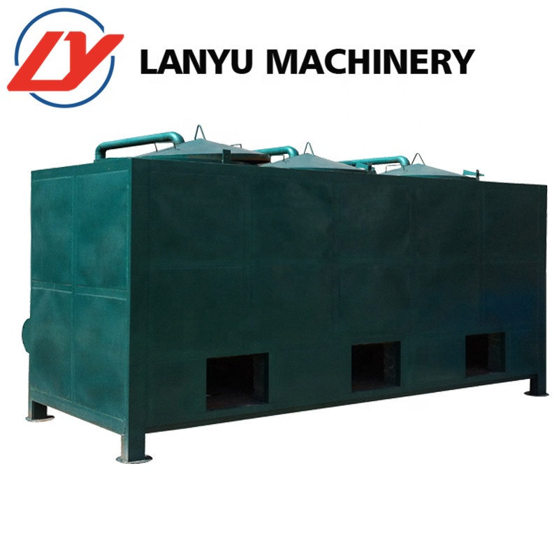 2019 Lanyu carbonization furnace stove/hydrothermal carbonization/continuous biomass carbonization furnace