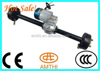 48V Voltage and Brushless Design Electric tricycle Combo rear axle differential motor, electric motor driving rear axle