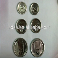 High quality best price golden or white aluminum easy open can lids