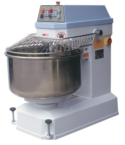 Commercial Large Spiral Mixer Bread Cake Dough Mixer 2 Speeds Mixer