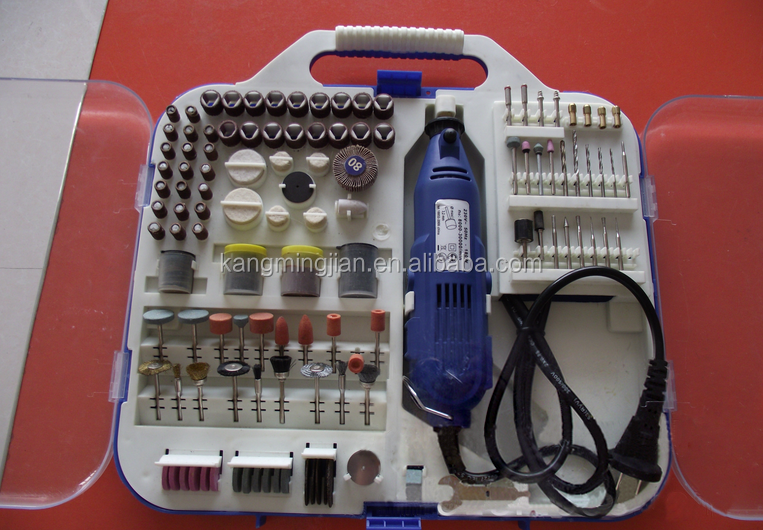 210PCS jewelry working accessory kits/rotary tool accessory set/ mini die grinder accessory kit