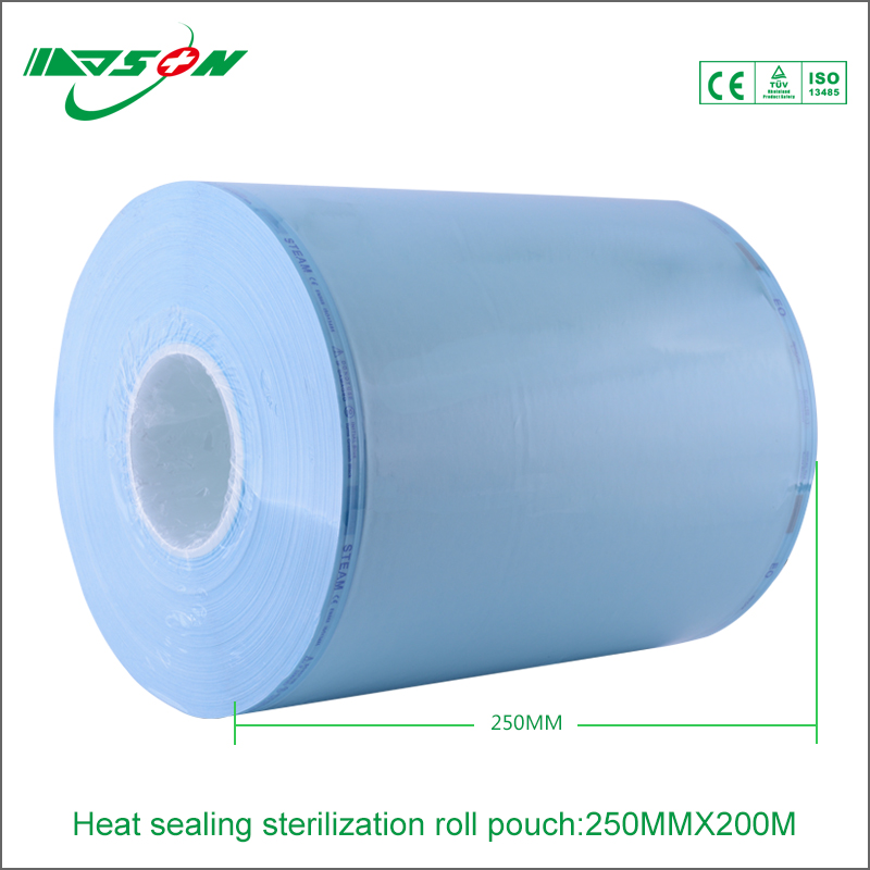 Medical Plastic Bags Sterile Packaging Pouch Autoclave Sterilization Pouches with factory price
