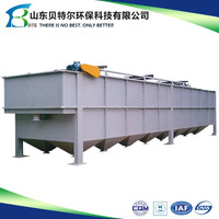 5-500 tons water air floatation and sedimentation spray paint waste water treatment