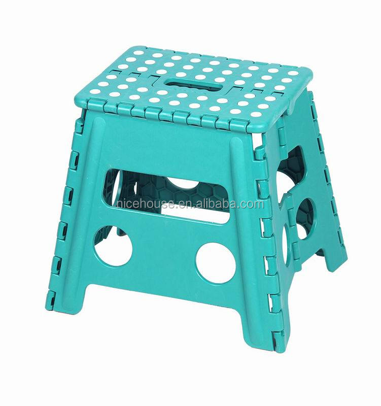 Multifunctional classical dot plastic folding stool