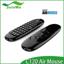 C120 Air Mouse 2.4GHz Wireless Keyboard witt for Android tv box Universal Remote Control Escrow paypal accept
