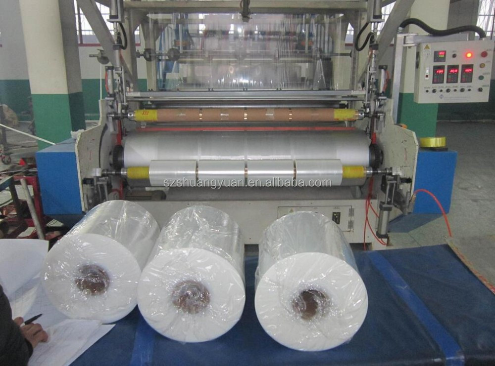 100m to 2000m Packing Factory directly wrap 19mic 20mic 22mic plastic film