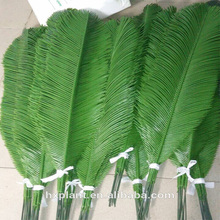 hot sale 2.8 meter plastic steel tube coconut trees leaves, artificial coconut trees leaves