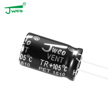 JWCO through hole TR series radial electrolytic capacitor