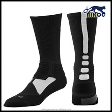 World cup design brand white football sock long mens