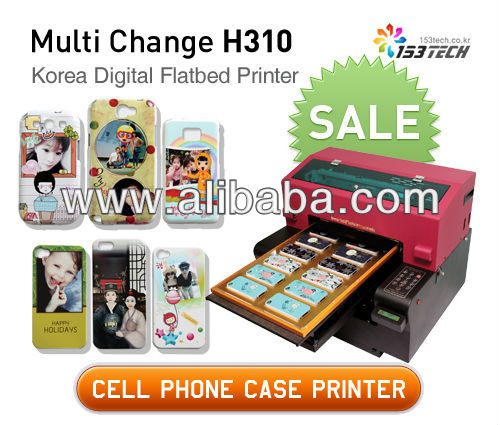 Cell Phonce Case Printing Machine! Multi Change H310