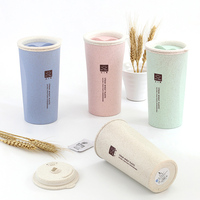 wholesale gift custom logo portable office double-layer tea coffee cup