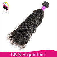 Super true to nature raw brazilian virgin hair extension water wave permanent
