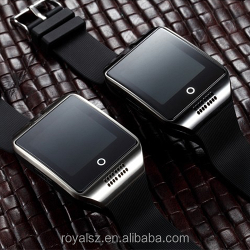 Fashion smart watch mobile phone Q18 greek language Huaqiangbei CE UL Certified Smart Watches