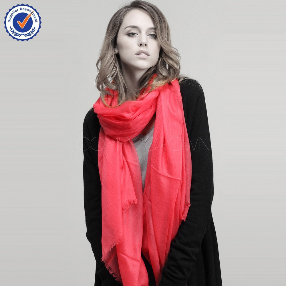 2015 pure mongolian cashmere scarf 300Nm 100% cashmere shawl C11018Y Thin women cashmere scarf wholesale