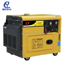 Air-cooled 5KVA portable silent diesel generator