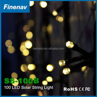Solar String Lamp with Outdoor 100 leds light Waterproof