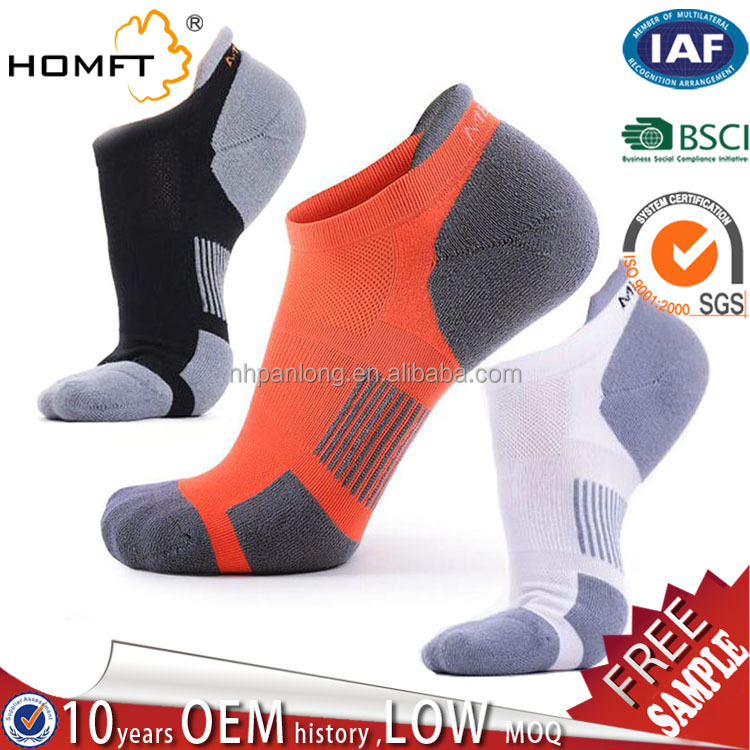 Name Brand outdoor sport running socks famous-Men's