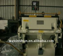 ML750 creasing and cutting machine with heating function For PVC
