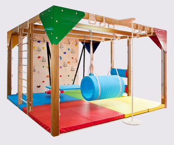integration of sports training room/rehabilitation equipment for children/training room