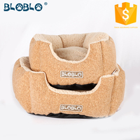 Foldable burger bun petdog training pads cat beds