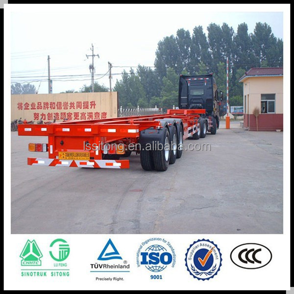 New container semi trailer , shipping container semi trailer , transport trailer truck