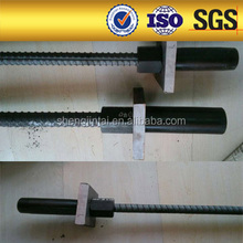 low price PSB785 threaded bar/screw thread bar