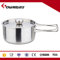 Stainless Steel Lightweight Outdoor Camping Hiking Cookware sets