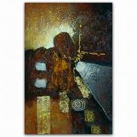 Original Modern horse abstract oil painting on canvas