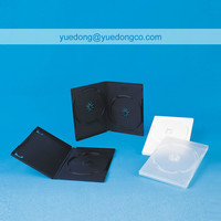 14MM BLACK/TRANSPARENT DVD CASE SINGLE/DOUBLE(YD-024)..YDD