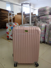 Hot selling pc trolley luggage with universal wheels