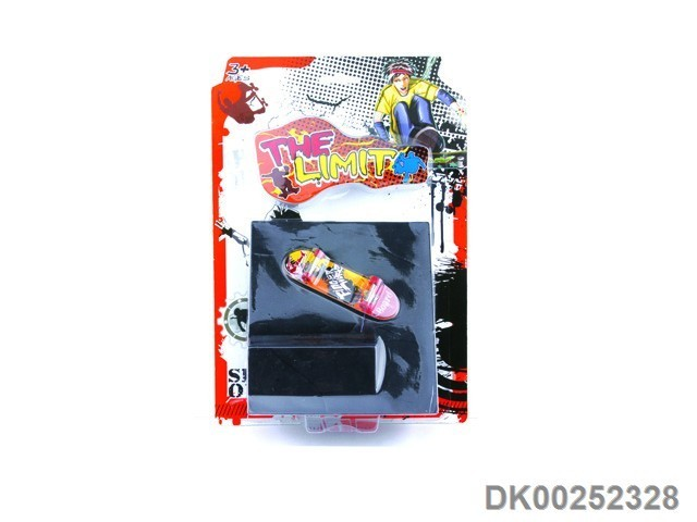 Hot Sale Finger Skateboard Blister Card Kids Toys With EN71 ASTM Certificate