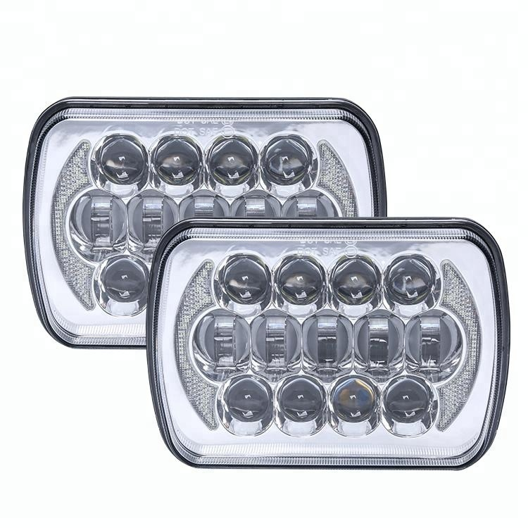 Patent Product 5x7 7x6 Inch 24V LED Truck Headlight Sealed Beam Head Light