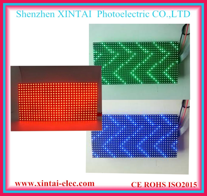 Outdoor RGB P10 1R 1G 1B LED Display Module 320*160mm